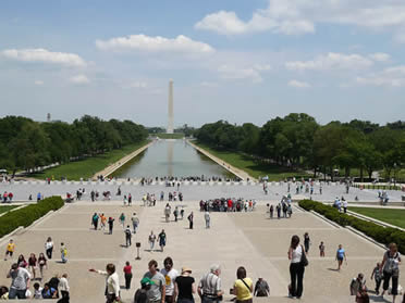 Picture taken From the Lincoln Memorial