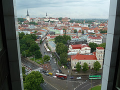 View of Tallin from Balcony